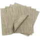 Chilewich Charcoal Square Bamboo Placemat