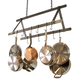 Enclume® Hammered Steel Tent Pot Rack