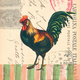 Italian Rooster Paper Cocktail Napkins