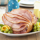 S. Wallace Edwards and Sons Spiral-Sliced Ham with Honey Glaze, 7–8 lbs.