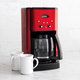 Cuisinart® Brew Central™12-Cup Coffeemaker, Metallic Red