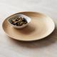 Spun Bamboo Round Serving Platter