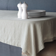 Natural Linen Tablecloth