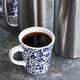 Antique Blue Floral Mug