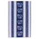 Blue Floral Jacquard Kitchen Towel