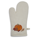 Embroidered Pumpkin Oven Mitt