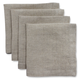 Linen Cocktail Napkins, Set of 4