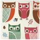 Meri Meri Owl Paper Cocktail Napkins