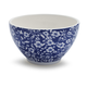 Antique Floral Blue Cereal Bowl