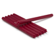 Cranberry Taper Candles, Set of 6