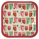 Meri Meri Owl Paper Luncheon Plates