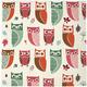 Meri Meri Owl Paper Lunch Napkins