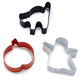 Wilton Halloween Cookie Cutters, Set of 3