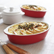 Oven-to-Table Stoneware Mini Au Gratins, Set of 2