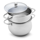 Stainless Steel Couscoussier, 7 qt.