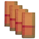 Autumn Jacquard Napkins, Set of 4