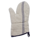French-Stripe Linen Oven Mitt