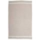 Gray French-Stripe Linen Kitchen Towel