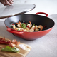 Le Creuset® World Cuisine Cherry Wok, 5 qt.