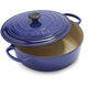 Le Creuset Signature Indigo Round Wide French Oven, 6¾ qt.