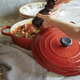 Le Creuset® Signature Cherry Round Wide French Oven, 6¾ qt.