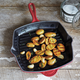 Le Creuset® Burgundy Square Grill Pan
