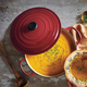 Le Creuset® Signature Burgundy Round Wide French Oven, 6¾ qt.