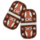 Owl Mini-Grip Pot Holders, Set of 2