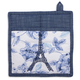 Eiffel Tower Floral Pot Holder