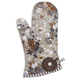 Winter Floral Vintage-Inspired Oven Mitt