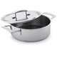 Demeyere Industry5 Sauté Pan with Lid, 4 qt.