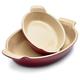 Le Creuset® Heritage Burgundy Au Gratin Dishes, Set of 2