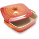 Le Creuset® Flame Covered Square Baker