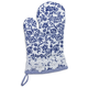 Blue Lace Vintage-Inspired Oven Mitt