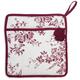 Cranberry Floral Vintage-Inspired Pot Holder