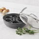 Sur La Table Dishwasher-Safe Hard Anodized Nonstick Egg Poacher