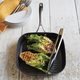 Sur La Table® Dishwasher-Safe Hard Anodized Nonstick Grill Pan