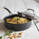 Sur La Table® Dishwasher-Safe Hard Anodized Nonstick Sauté Pan, 3 qt.