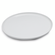 Italian Whiteware Round Cheese Platter