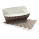 Paper Eskimo Brown Loaf Pans, Set of 8