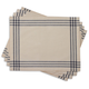 French Stripe Placemats, Set of 4