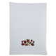 Embroidered Leaf Kitchen Towel, 28