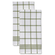 Waffle Check Towels, Set of 2