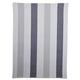 Gray Medium-Stripe Towel