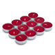 Cranberry Tealights, Set of 24