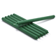 Green Taper Candles, Set of 6