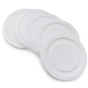 Working Glass Jar Lids, Set of 6