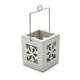 Wood Snowflake Votive Candle Holder