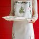 Holly & Pine Serving Platter