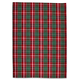 Red & Green Plaid Kitchen Towel, 28